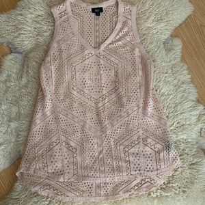 Mossimo Laser Cut Tank Top